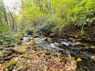 Tentrr Signature Site - Bear Creek Falls Getaway