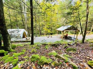 Tentrr Signature Site - A Creek Runs Through It