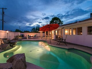 Modern Chic Old Town Scottsdale Home w/Pool & Gym!