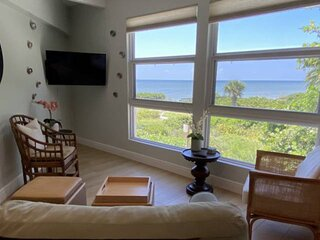 NEWLY UPDATED! Enjoy a little piece of Sanibel paradise in this gulf front condo