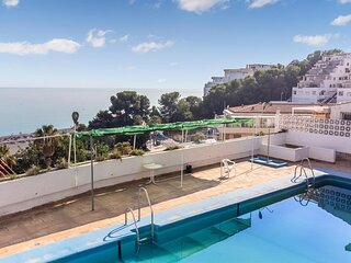 Beautiful apartment in Almuñecar with Outdoor swimming pool, WiFi and 1 Bedroom