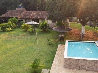 Chacara Guarapari ES, 7km Praia do Morro, 08 quartos, Exclusiva para seu grupo