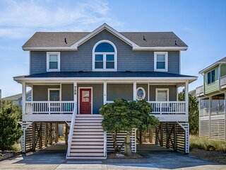 Barefootin'   499 ft from the beach   Hot Tub, Community Pool   Corolla