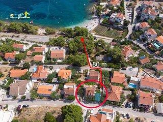 Damir - 80 m from beach: A2(2+2) - Postira