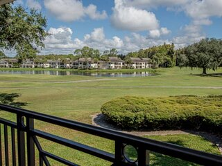 New Listing! Old Charm in Saddlebrook 1018~Golf Course Views~Private Patio~Corne