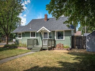 New Listing! Cozy Cottage - Walking Distance to Downtown Coeur d'Alene