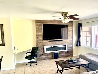 3Mins.Fort Bliss/Airport-Pet Friendly-Washer/Dryer