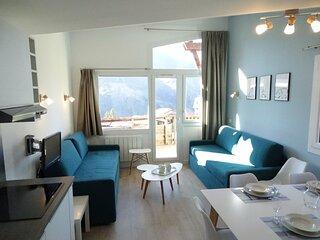 Bel appartement rénové style scandinave, quartier Falaise