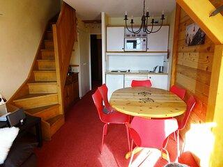 2 pieces cabine Duplex, residence Tilia