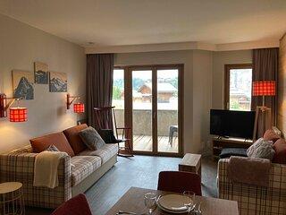 Appartement spacieux et confortable dans résidence 4*