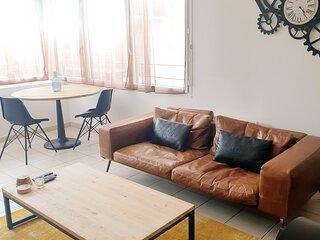 Superbe appartement cosy en centre ville et cinq minutes des plages