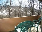 Deck with Winter View