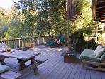 Casa Luna, Great Back Deck for dining and lounging
