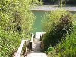 Irish Mist Vacation Rental Private Dock on the Russian River