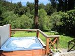 Rio Lindo Vacation Rental with Hot Tub on back deck