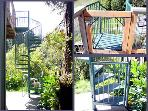 Riverside Lodge, Spiral Stairs with Safety Gates