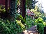 SHP Vacation Rental path to Russian River Beach