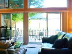 Villa Eileen, Wall of Windows, Russian River Vacation Rental