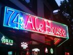 Walk to local groceries, boutiques, and restaurants like our favorite, 74th St. Ale House