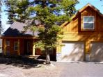 Spacious mountain style home with amenities.