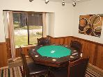 Poker Table in Den