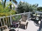Sunny Rear Porch