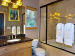 Enjoy this newly remodeled bathroom.