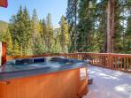 Brookside House Hot Tub Deck Breckenridge Lodging