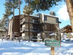 Double Eagle Exterior in Winter Breckenridge Ski-in Lodging