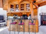 High Point House Kitchen Breckenridge Lodging Luxury Home Rental