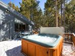 High Point House Hot Tub Deck Breckenridge Lodging