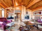 Lonestar Lodge Living Room Breckenridge Luxury Home Rentals