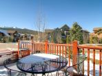 Highland Greens Hot Tub Deck Breckenridge Lodging Vacation Renta