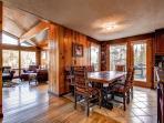 Lonestar Lodge Dining Breckenridge Luxury Home Rentals