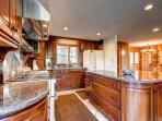 Lonestar Lodge Kitchen Breckenridge Luxury Home Rentals