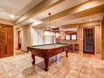 Lonestar Lodge Family Rec Room Breckenridge Luxury Home Rentals