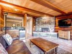 Lonestar Lodge Family Room Breckenridge Luxury Home Rentals