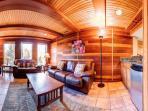 Lonestar Lodge Lower Level Family Room Breckenridge Lodging