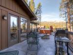 Lonestar Lodge Hot Tub Deck Breckenridge Luxury Home Rentals