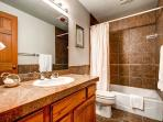 Mountain Comfort Haus Basement Bathroom Breckenridge Lodging