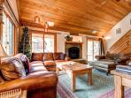 Pine Station House Living Room Breckenridge Lodging