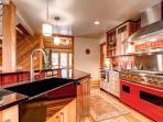 Pine Station House Kitchen Breckenridge Lodging