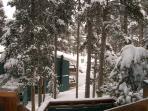 Peak 8 Village Views from Balcony Breckenridge Lodging