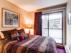 River Mountain Lodge Queen Bedroom Breckenridge Lodging