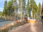 Pine Station House Hot Tub Deck Breckenridge Luxury Home Rentals