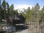 Pine Station House View from Loft Breckenridge Lodging