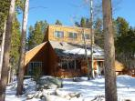 Pine Station House in Winter Breckenridge Luxury Home Rentals