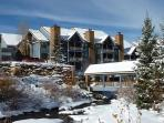 River Mountain Lodge in Winter Breckenridge Lodging