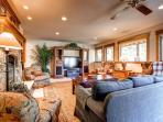 Silverview at Highlands Family Room Breckenrige Luxury Lodging
