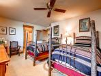 Silverview at Highlands Twin Bedroom Breckenrige Luxury Lodging